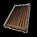 Wooden Sloped Roof