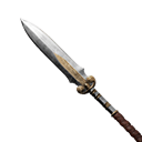 Exceptional Hardened Steel Spear