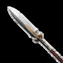 无瑕的坚固钢矛