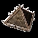 加固的木制屋顶盖