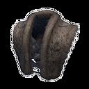 Exceptional Hyena-fur Chestpiece