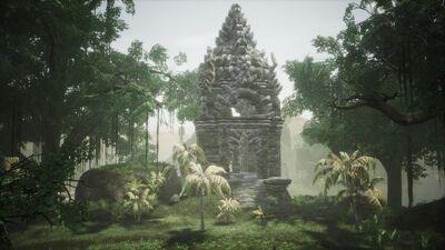 The Pagoda from far away