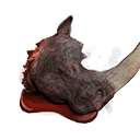 Rhino King Head