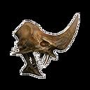 骸骨蛇人頭