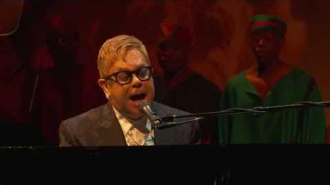The Circle of Life - Elton John at the Theater Awards - London November 13 2016