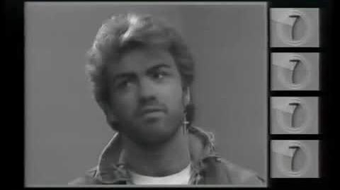 GEORGE MICHAEL CONCERT in 1987 AIDS DAY