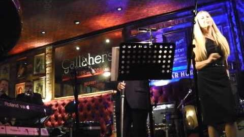 Van Morrison sings 'Baby What You Want Me To Do' at The Harp Bar, Belfast 31 12 13