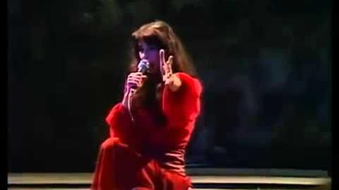 KATE BUSH'S FIRST TV Köln Frechen Benzelrather Eisenbahn -Kite & Wuthering Heights LIVE