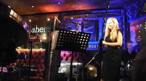 Van Morrison sings 'Centrepiece' at The Harp Bar, Belfast, 31 12 13