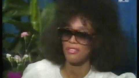 Whitney Houston talks about the 1987 Special Olympics