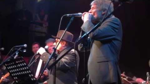 Van Morrison and Paul Jones 'Help Me' at Cranleigh Arts Centre, 15th December 2014.