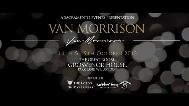 Sacramento Events Dinner with Van Morrison