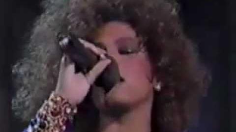 Whitney Houston Statue Of Liberty July 4 1986