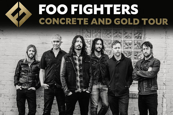 Concrete and Gold Tour