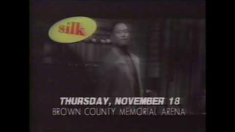 Bel Biv Devoe, Silk, SWV, Shai Concert 1993 TV Commercial (Green Bay, WI Brown County Arena)
