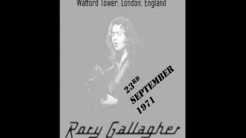 Rory Gallagher Watford Tower 23, 9, 1971