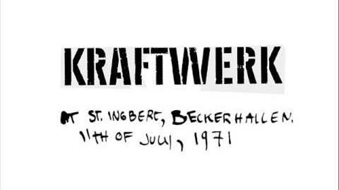 Kraftwerk - St. Ingbert, Beckerhallen 1971 - full concert
