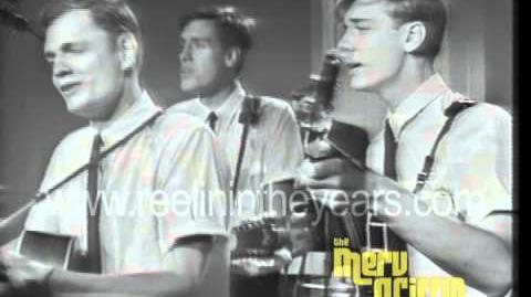 """Harry Chapin (The Chapins)- """"Gotta Get A Daddy"""" (Merv Griffin Show 1965)"""