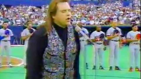 Meat Loaf The US National Anthem (Star Spangled Banner)