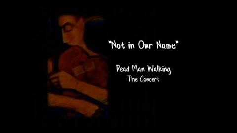 Not In Our Name Dead Man Walking - The Concert HQ (FULL CONCERT)