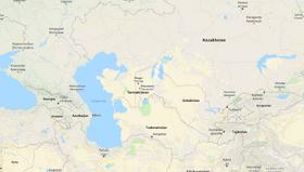 Localização do Tarmaquestão na Ásia Central