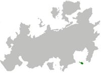 Republika Leukoska na mapie
