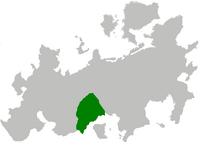 Konfederacja Spalska na mapie