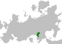Królestwo Dynezyjskie na mapie