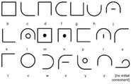 Coyaron consonants