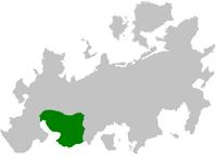 Republika Worastanu na mapie