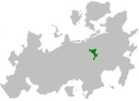 Republika Krabacji na mapie