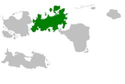 Jaruzja na mapie