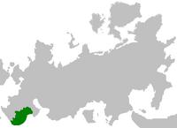 Republika Gudziajpuru na mapie