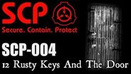 """SCP-004 """"12 Rusty Keys And The Door"""" - SCP FOUNDATION - SCP Creatures"""