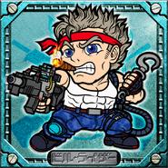 Bill Rizer - Contra 3D - 04