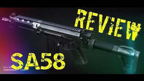 Обзор SA 58 AP (Лучшая пушка) Pro kill Contract Wars