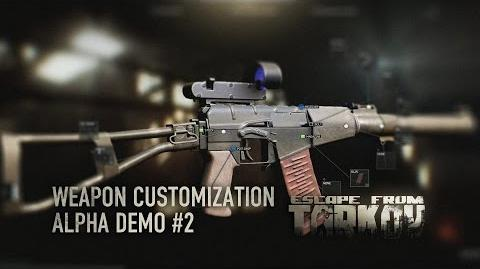 Escape from Tarkov - Alpha weapon customization -2