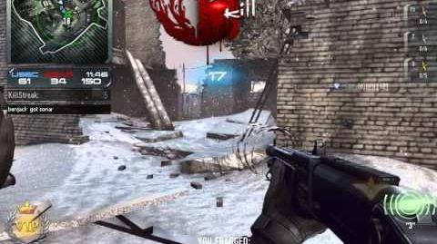Contract wars Spas12 + 2 quad kill