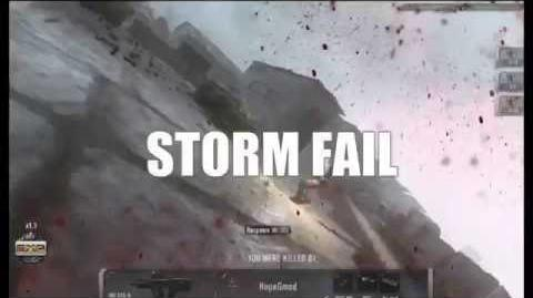 Match Start STORM FAIL - Hapless Shorts