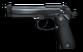 Pistol beretta unlocked