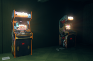 Arcade Cabinets both on