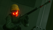 Hiss demo weapon