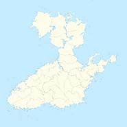 3 Mapa dos Condados NUTS 2