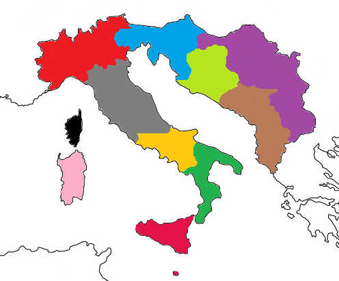 Provinces of Europa