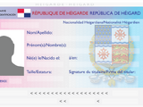 National identity card (Heigard)