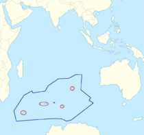 Location of the Southern Indian Ocean Islands[1]