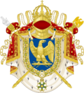 Coat of Arms of the Empire of Paradise Island (Other version)