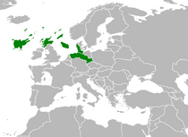 Location of the Seafaring Confederation in Europe