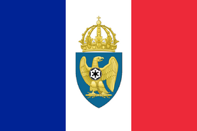 National Flag of the Empire of Paradise Island