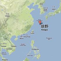 Location of Rangya (red arrow)